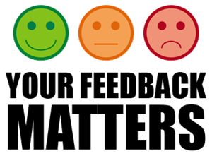 Your Feedback Matters!
